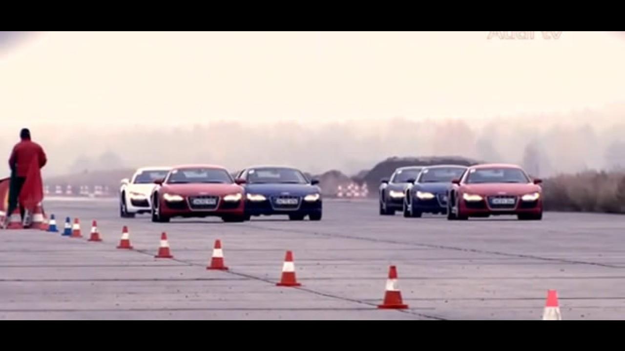 Vídeo: Audi R8 Race Experience
