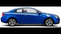 Chevrolet Cruze pode ganhar versão coupé de duas portas nos Estados Unidos