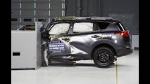 Novo Toyota Rav4 se dá mal em teste de colisão do IIHS