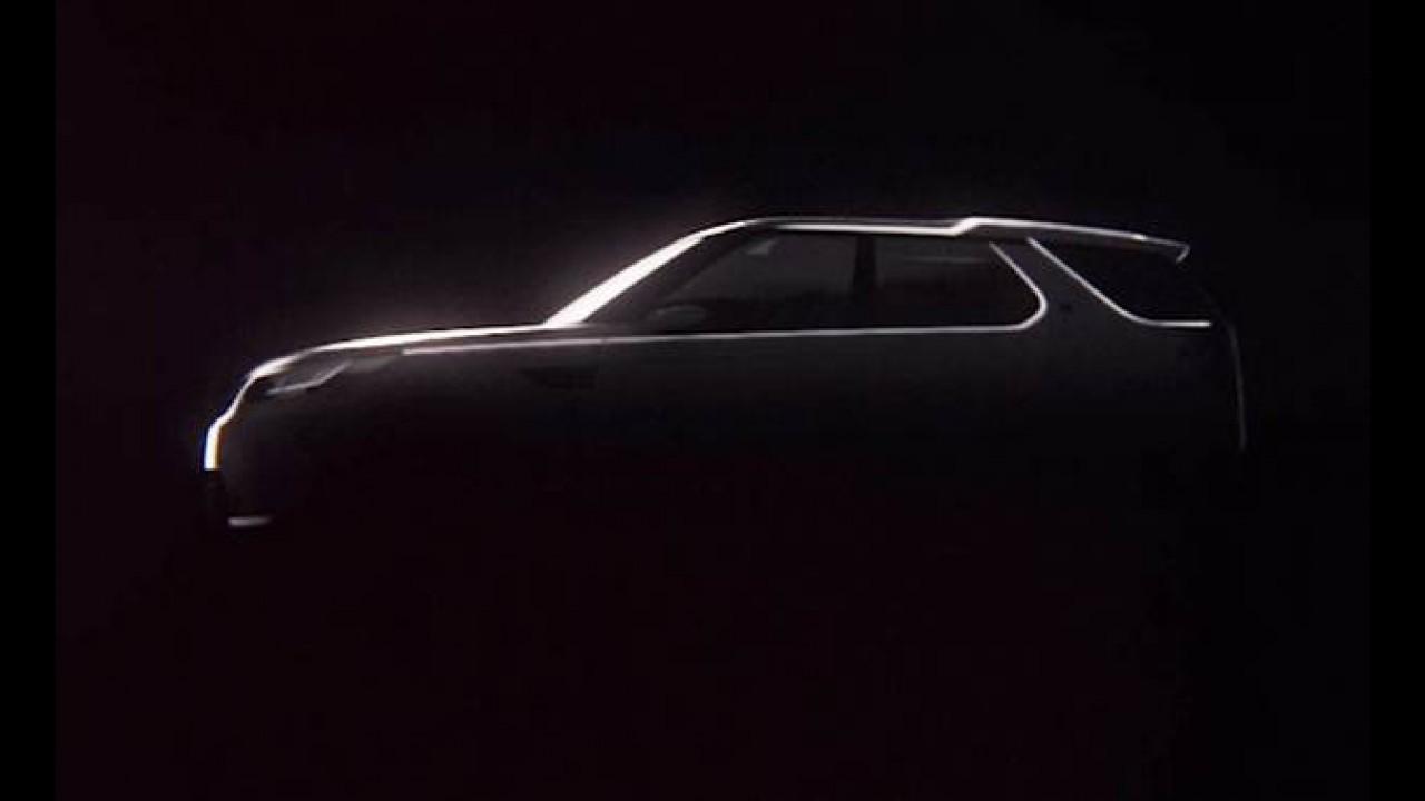 """Capô """"transparante"""" é novidade do Land Rover Discovery Vision Concept"""