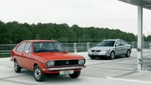 Passat B1 1973 und Passat 2003
