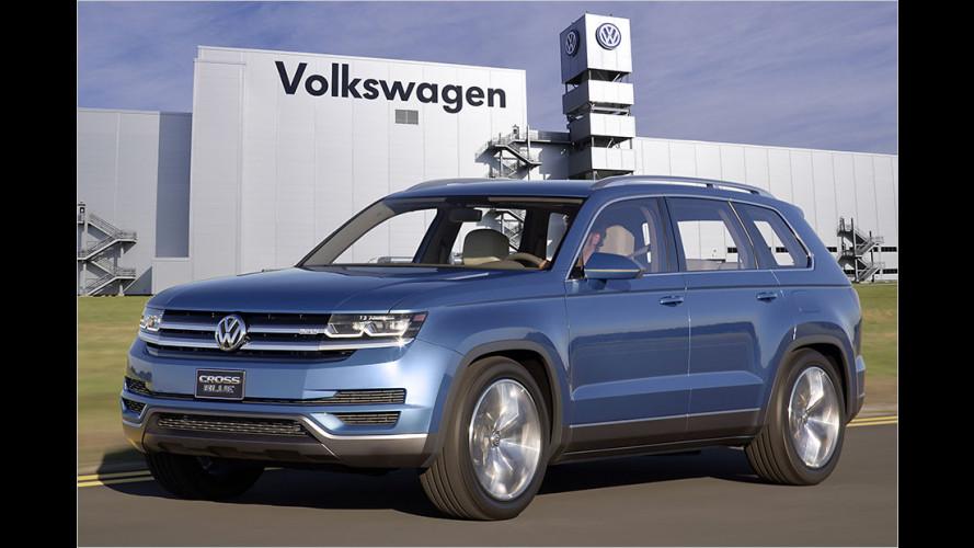 Volkswagen bringt großes SUV