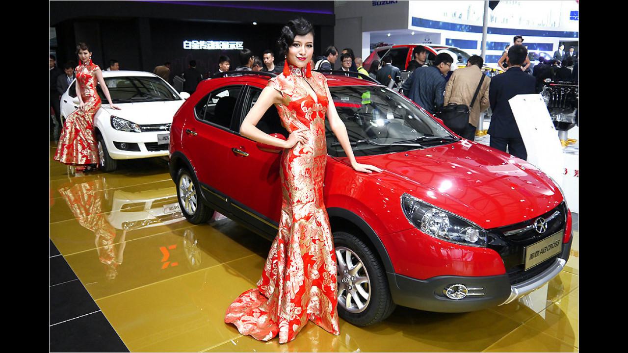 Schick gewandet in Shanghai? Fahlen wil in die Opel!