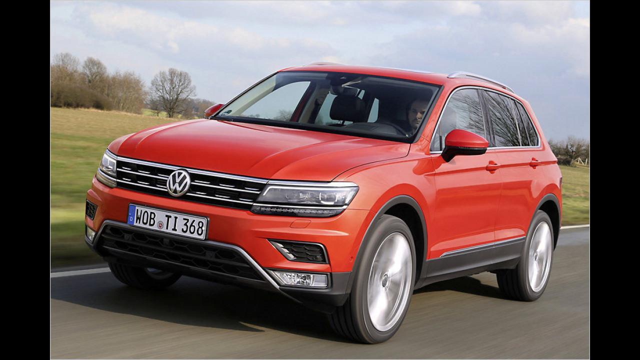 Mittlere SUVs: VW Tiguan