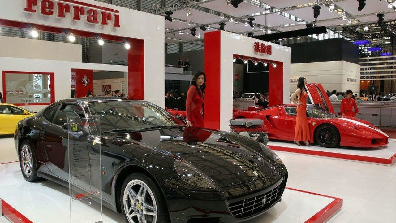 Ferrari at Auto Shanghai 2007