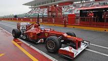 Formula 1 testing at Ferrari's Mugello circuit 01-03.05.2012