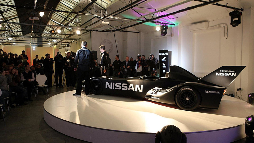 Nissan joins DeltaWing experimental racecar project - ready for Le Mans [video]