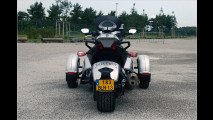 Motorrad mit drei Rädern