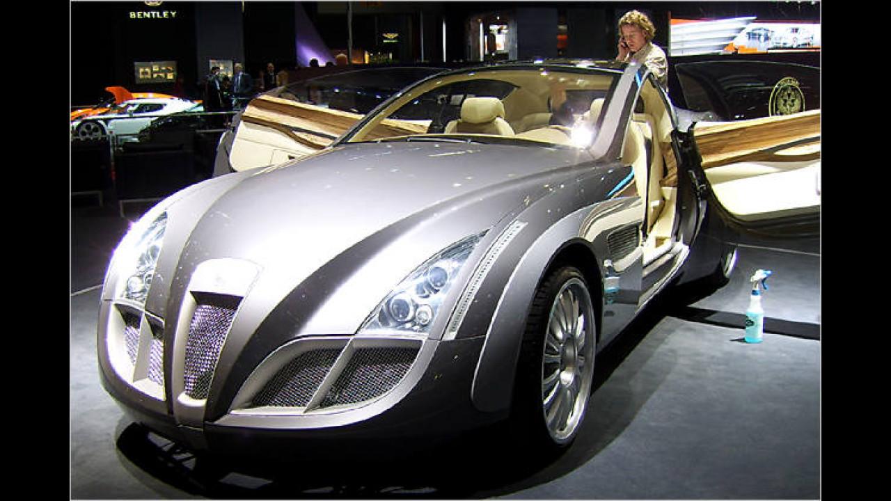 Von der russischen Marke Russo Baltique stammt der Impressario, der Fahrwerk und Motor vom Mercedes CL 65 AMG nutzt