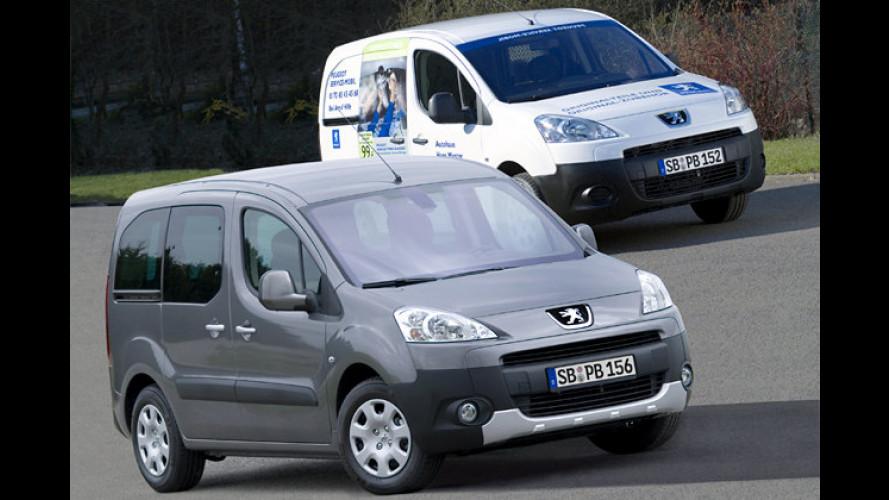Neue Partner von Peugeot für Freizeit und Geschäft