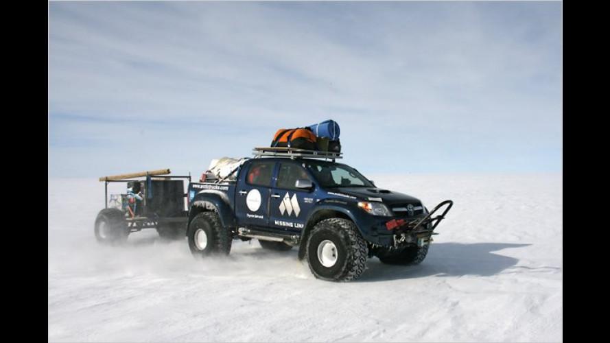 Minus 56 Grad Celsius: 4.600 Kilometer durch die Antarktis