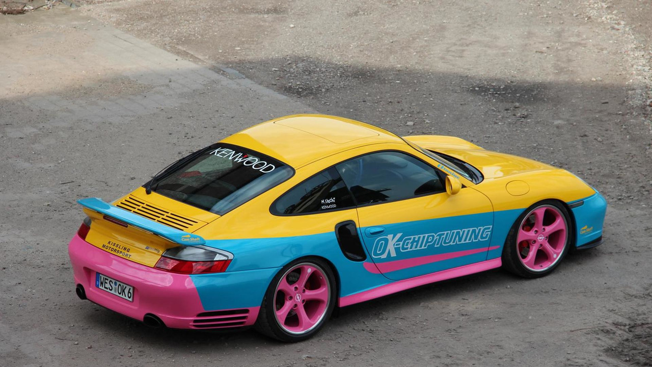 Porsche 996 modified by OK-Chiptuning 14.05.2013