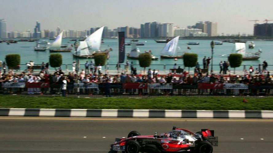 Abu Dhabi Confirms Formula One GP Date