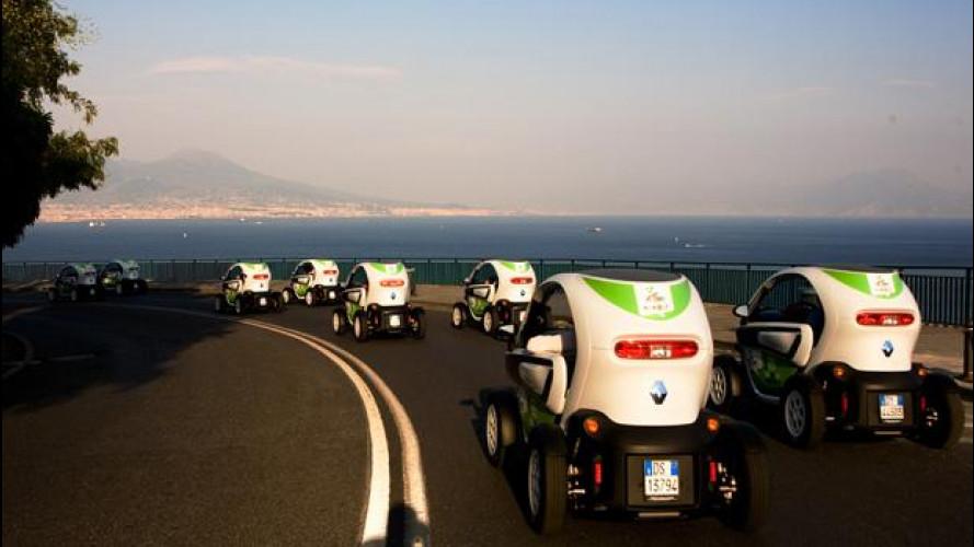 E' a Napoli il primo car-sharing ecologico d'Italia