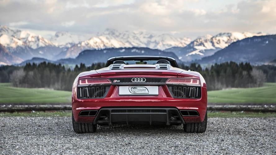 2018 Audi R8 Spyder V10 RWS ve 2011 Audi R8 Spyder V10 GT S ABT