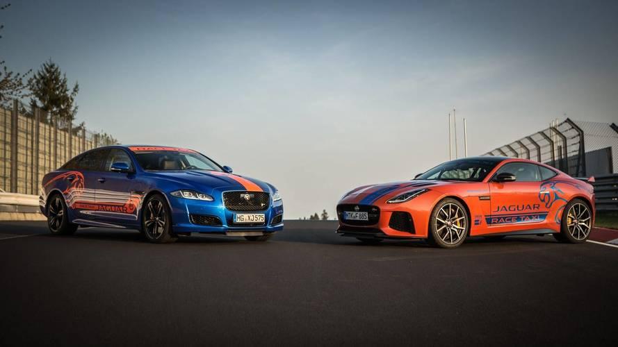 Jaguar'ın iki yeni Nürburgring taksisi ortaya çıktı