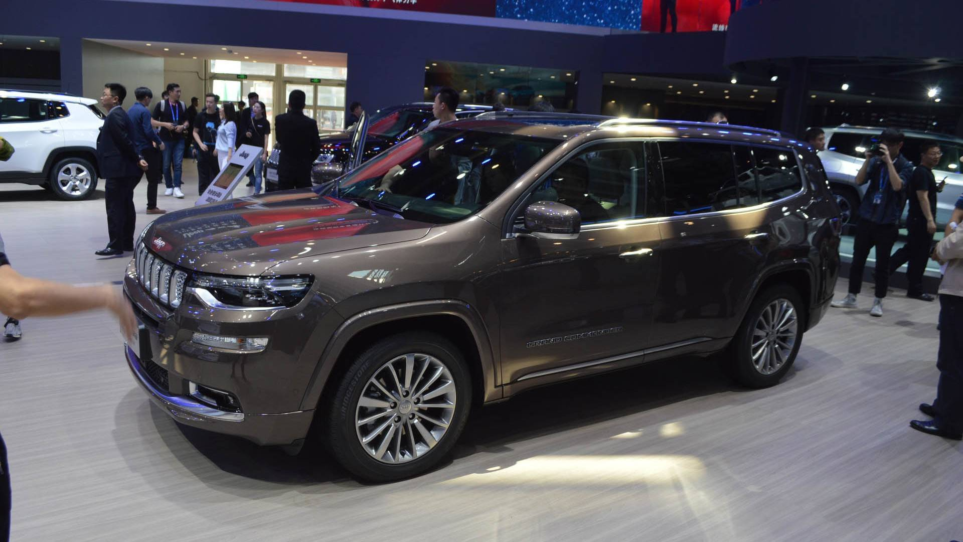 VWVortex.com - Jeep Grand Commander Revealed For China