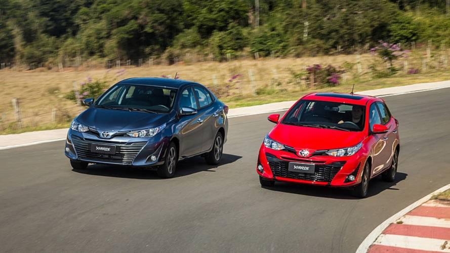 Toyota Yaris para PCD custa a partir de R$ 46.533 - confira tabela