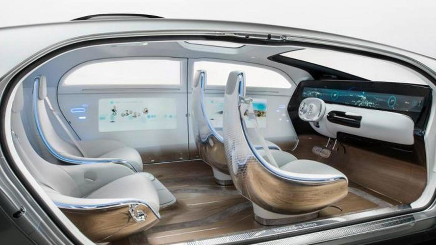 Mercedes F 015 Luxury in Motion concept unveiled at CES