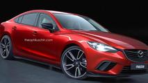 Mazda6 MPS render