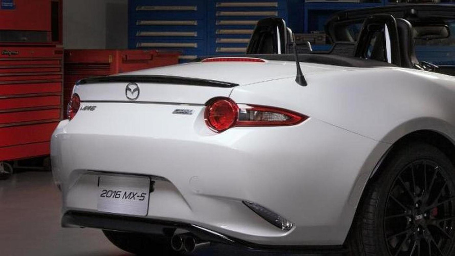 Mazda MX-5 accessories design concept teased for Chicago