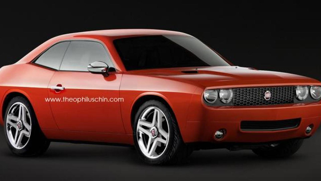 Fiat 128 Sport Coupe Resurrected Through Dodge Challenger