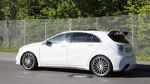 2016 Mercedes-Benz A45 AMG facelift spy photo