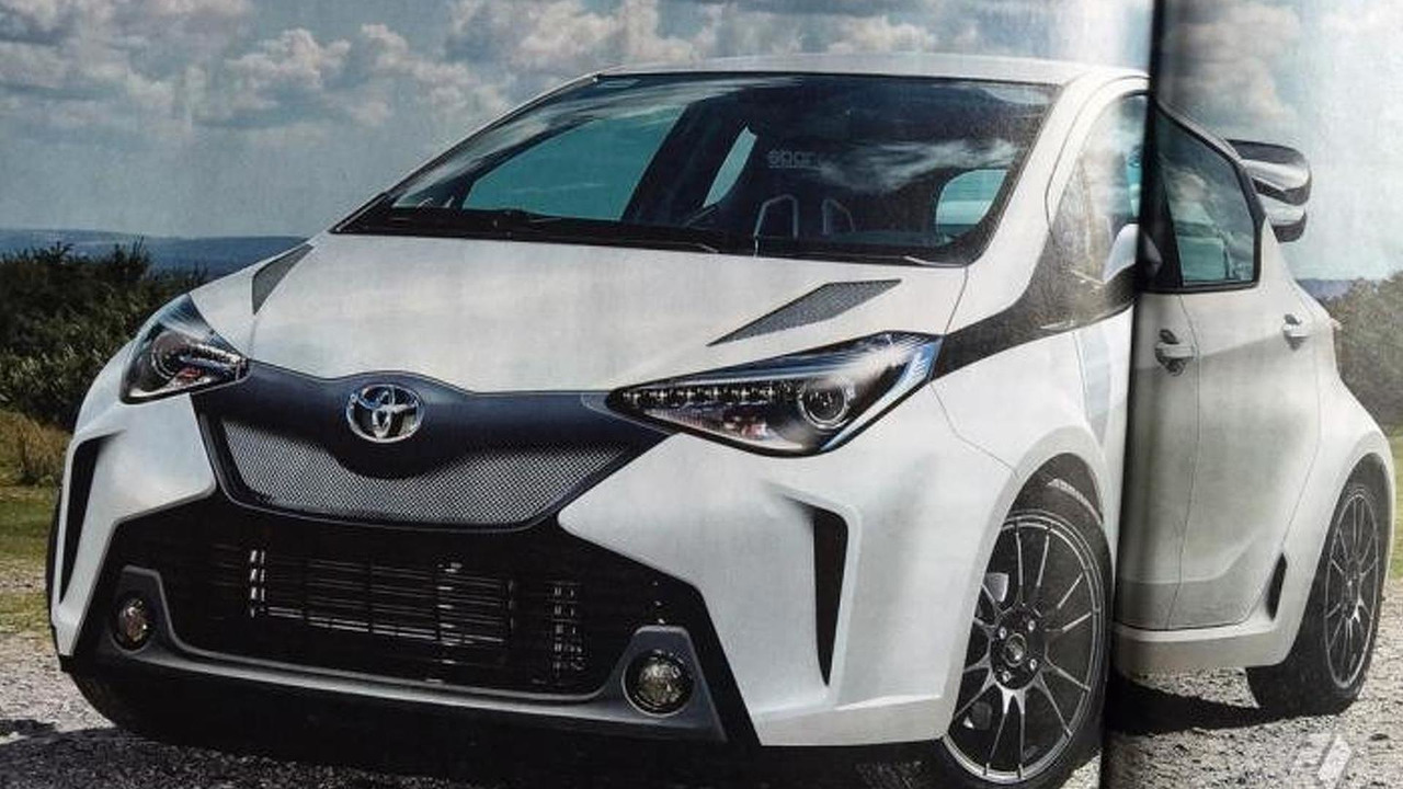 More powerful Toyota Yaris render