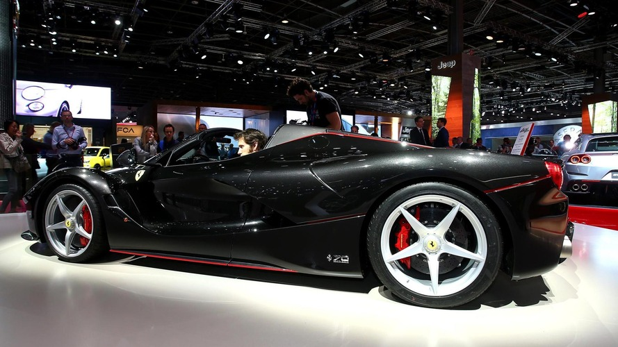 Ferrari LaFerrari Aperta Hits UK On Summer Tour