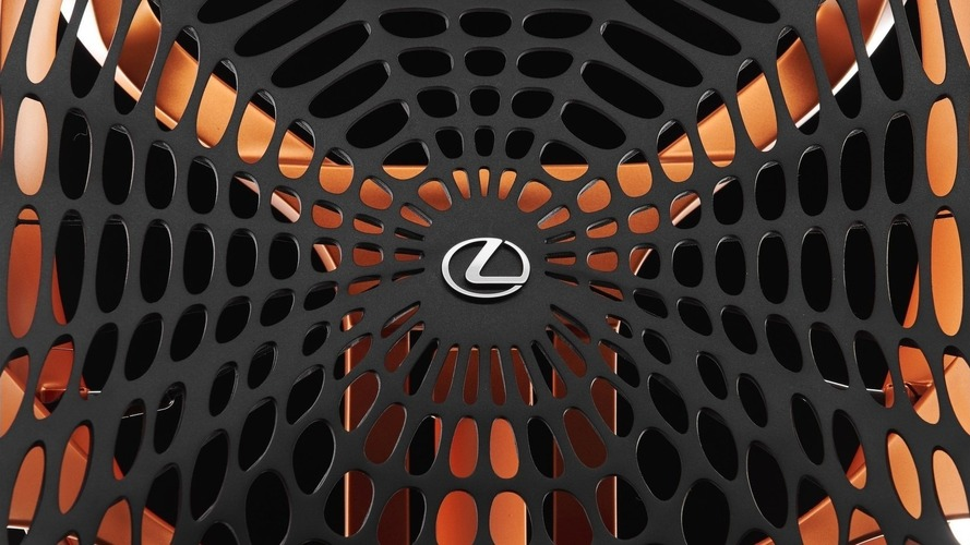 Lexus Kinetic Seat Concept has web ready to hold you tight
