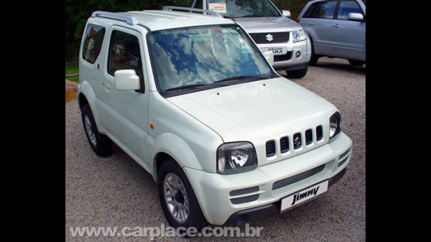 Suzuki começa a vender o jipe Jimny com tração 4x4 no Brasil por R$ 54.990