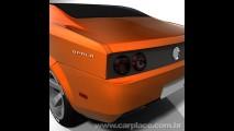 Estudante faz releitura moderna do Chevrolet Opala inspirada em MuscleCar