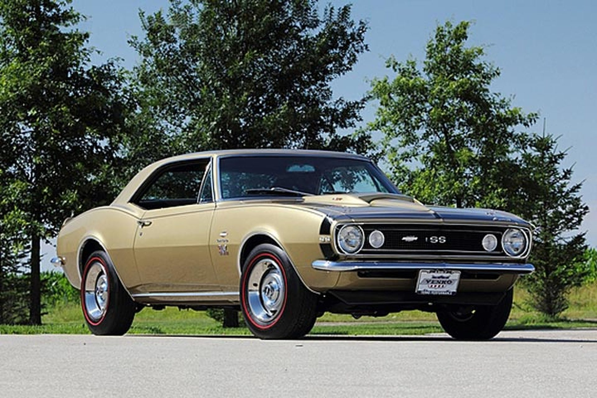 Don Yenko's First '67 Camaro Heading to Auction