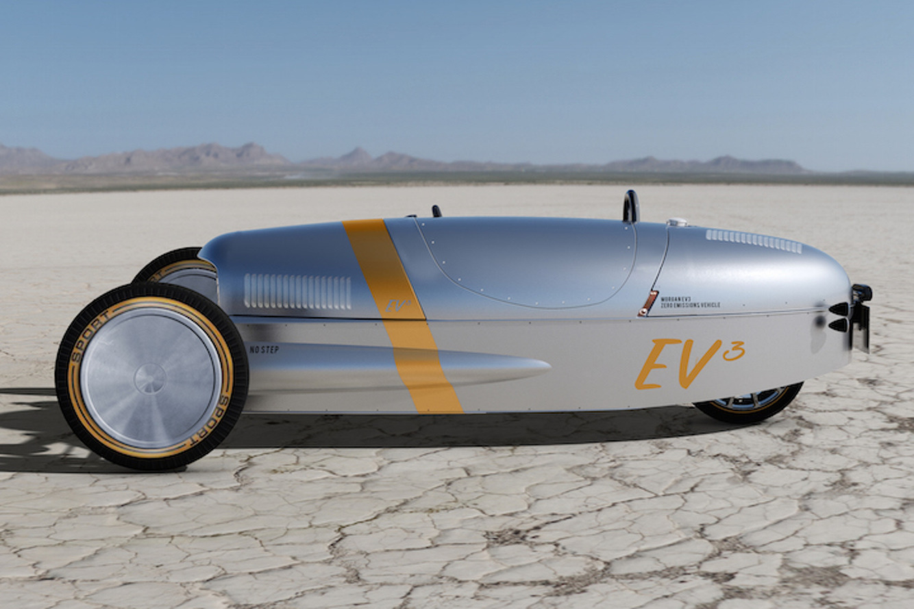 What Has 3 Wheels and an Electric Motor? The New Morgan EV3