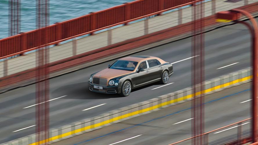 Bentley Mulsanne Extended Wheelbase Gigapixel Image