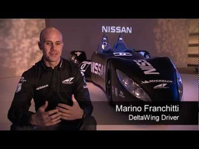 2012 Nissan DeltaWing Project for Le Mans