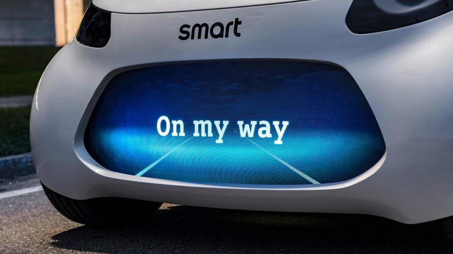 smart lanza un teaser de su nuevo coche eléctrico