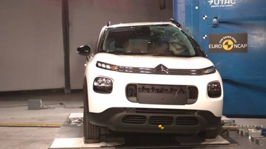 Citroën C3 Aircross crash-test