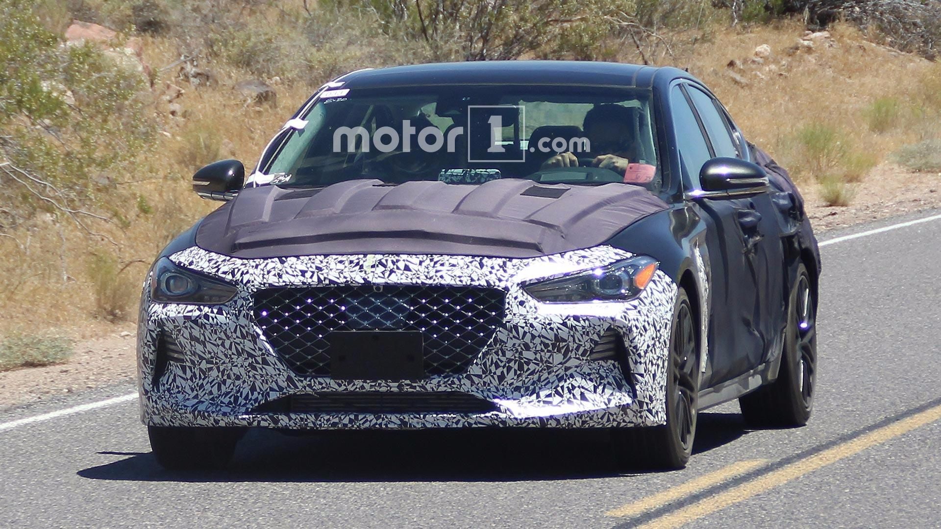 Spy Photos & Video — Hyundai (Genesis) G70,  уж куда спортивнее