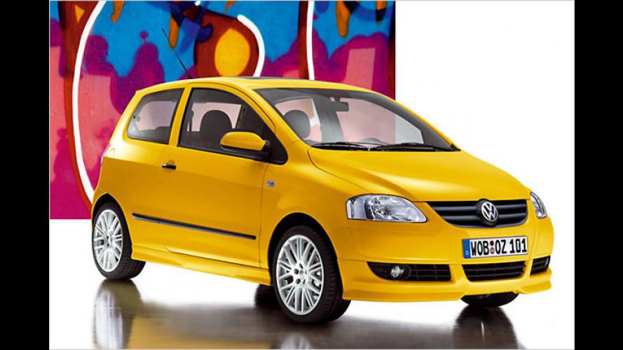 Volkswagen: Peppigeres Äußeres für den kleinen Fox