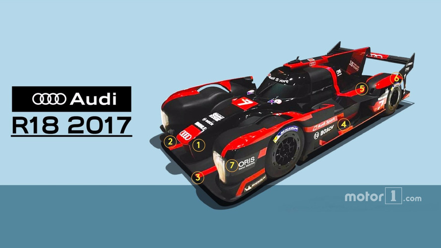 Is this what the 2017 Audi R18 would've looked like?