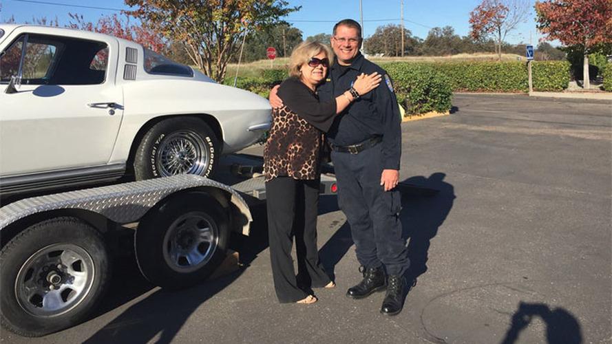 Çalınan Corvette 40 yıl sonra sahibine döndü