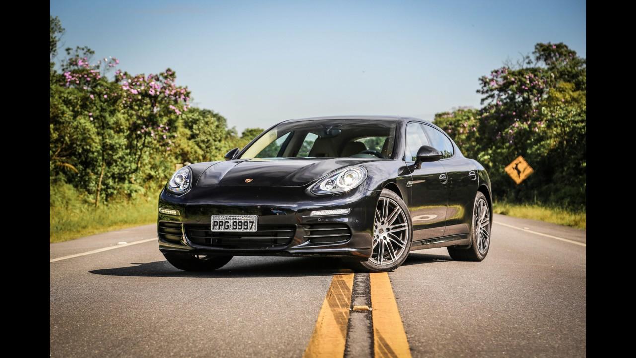 Vazou: esta pode ser a 1ª foto do novo Porsche Panamera 2017