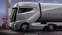 Tesla Semi Rendering