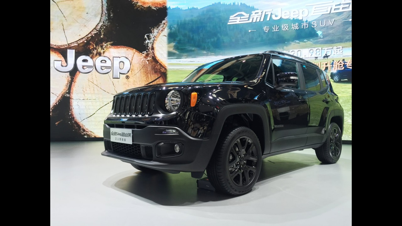 """Salão de Pequim: Renegade """"made in China"""" tem motor 1.4 turbo e câmbio DCT"""