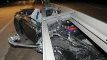 Porsche 911 prototype crash with fatality