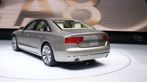 2011 Audi A8 Sedan at 2010 NAIAS in Detroit