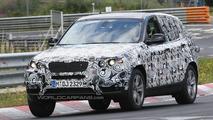 2011 BMW X3 Spied at Nurburgring
