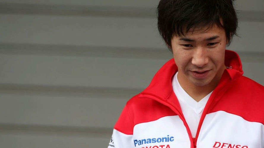 Kobayashi on standby after Glock crash