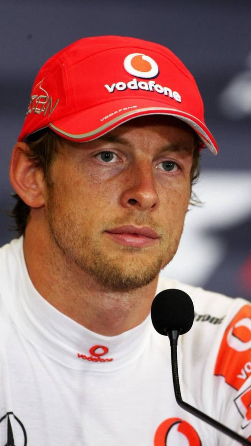 Button hopes rivals struggle with exhaust problems